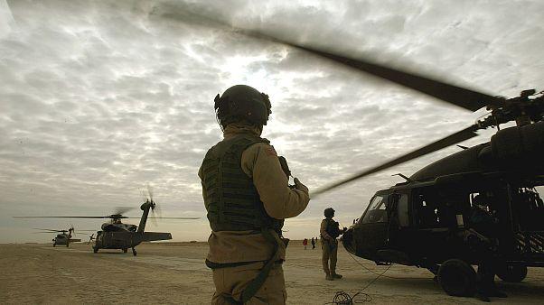 تصویری از پایگاه هوایی عین الاسد در شمال عراق