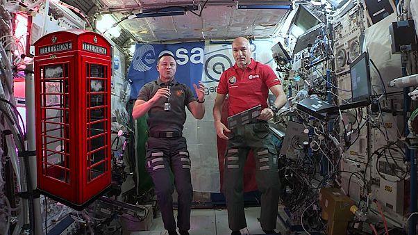 Les astronautes à bord de l'ISS sont-ils surveillés en permanence?