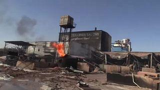 Gázrobbanás egy szudáni üzemben