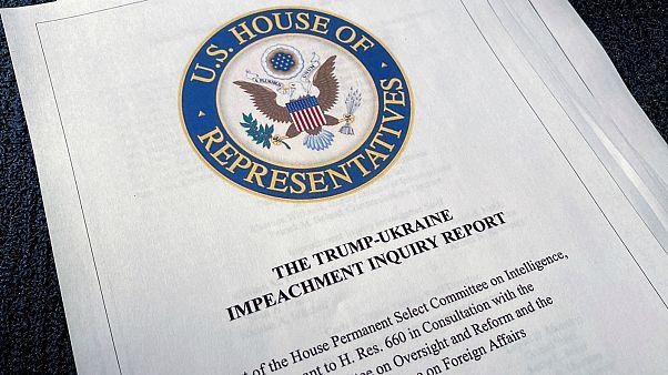 تقرير اللجنة البرلمانية لعزل دونالد ترامب- أرشيف رويترز