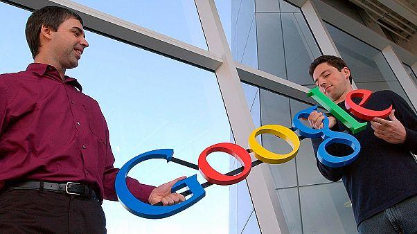Larry Page (sağda), Sergey Brin (solda)
