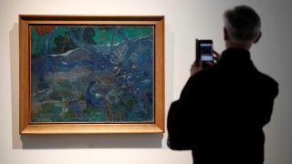 "Paul Gauguin'in ""Te Bourao II"" adlı tablosu"
