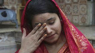 Çinli bir kişi ile 'evlendirilen Pakistanlı Mahek Liaqat, gittiği ülkede yaşadıklarını göz yaşları içerisinde anlattı