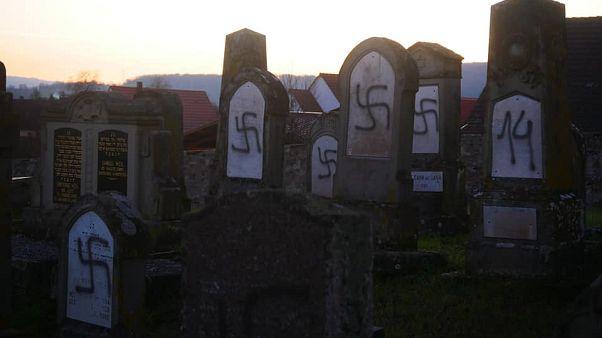 Γαλλία: Βεβήλωσαν και πάλι εβραϊκό κοιμητήριο
