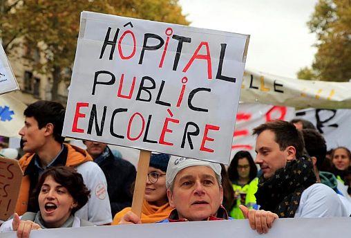 اعتصاب سراسری کم سابقه در فرانسه در مخالفت با اصلاح قانون بازنشستگی