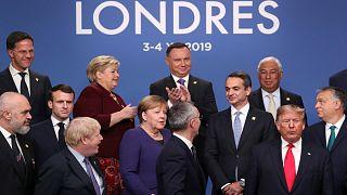 """2. Tag des Nato-Gipfels: Merkel """"recht optimistisch"""", Macron untermauert Kritik"""