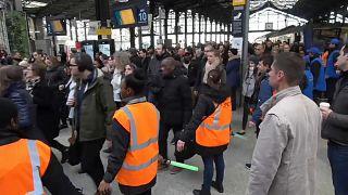 Streik in Frankreich - Proteste gegen Rentenreform