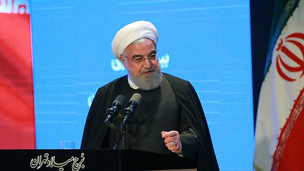 İran lideri Ruhani'den protesto açıklaması: Masumlar serbest bırakılsın