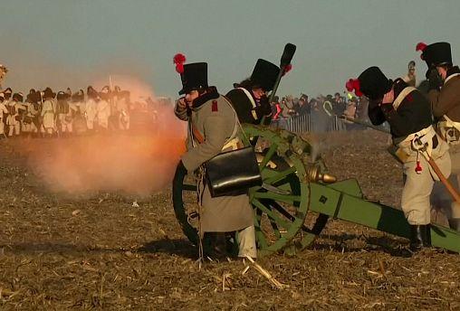 Representan una de las batallas más famosas de Napoleón en República Checa