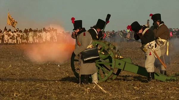 Czech village hosts re-enactment of Napoleon's Battle of Austerlitz