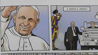 La Guardia svizzera pontificia diventa un fumetto