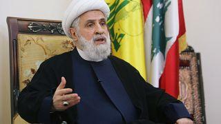 زعيم أعضاء حزب الله بالبرلمان نعيم قاسم