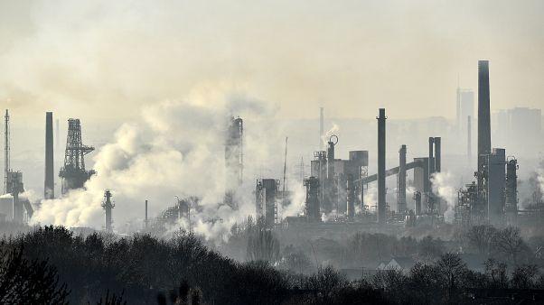Erdöl-Raffinerie in Gelsenkirchen