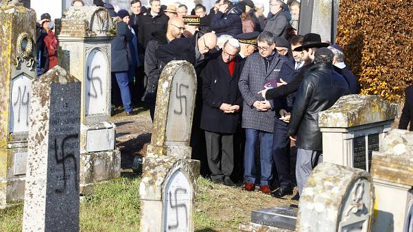 France opens anti-hate office after Jewish graves desecrated with swastikas
