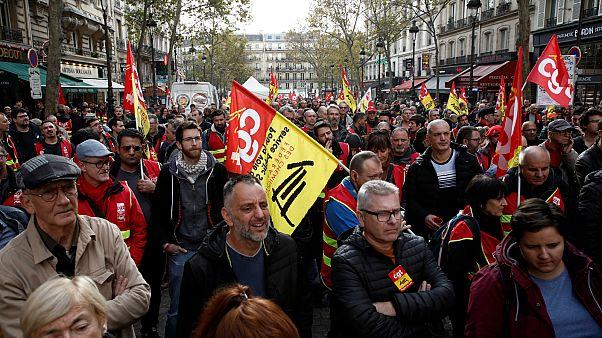 إضراب فرنسا العمالي والنقابي.. كل ما تريد معرفته عن الأسباب والمستجدات