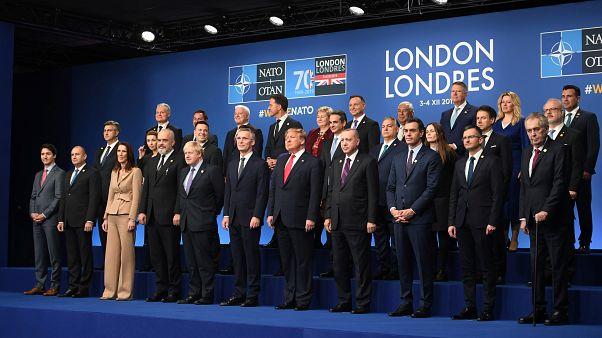 رهبران ناتو در پایان نشست لندن خواهان تشکیل یک جبهه متحدتر شدند