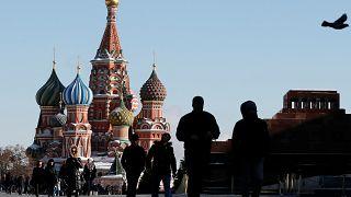 صورة للساحة الحمراء في موسكو -روسيا