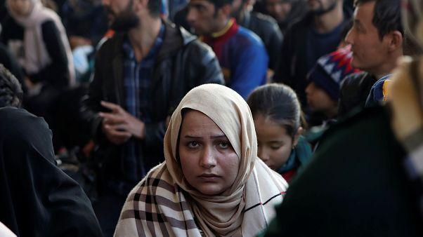 Προσφυγικός καταυλισμός στην Λέσβο