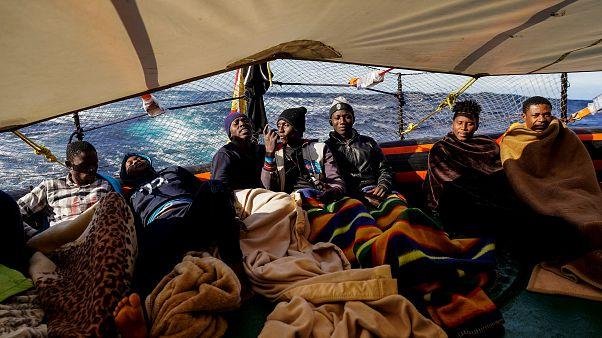 Temsili Fotoğraf/ İtalya'ya göçmen yolculuğu