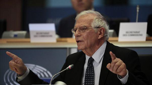 """Josep Borrell: """"América Latina está incendiada"""" y la UE no puede ser """"indiferente"""""""