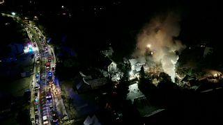 Pologne : dramatique explosion dans une station de ski