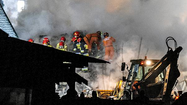 Explosão de gás na Polónia: Oito mortos, quatro dos quais crianças