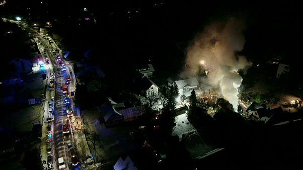 Seis mortos em explosão de gás numa estância de esqui