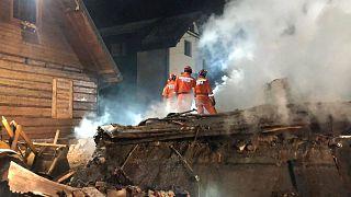 Gázrobbanás: 8 halott Lengyelországban