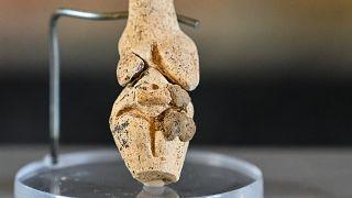 Őskori Vénusz-szobrot találtak Franciaországban