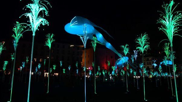 2019 Festival of Lights in Lyon, France
