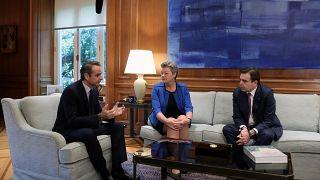 Κυρ.Μητσοτάκης - Μεταναστευτικό: Η Ελλάδα στηρίζεται στην ευρωπαϊκή αλληλεγγύη