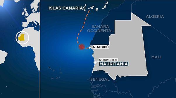 58 migrantes con destino las Islas Canarias mueren en un naufragio cerca de la costa mauritana