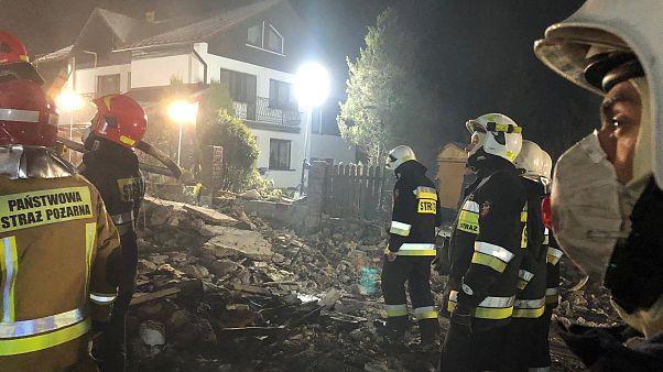 Négy gyerek és négy felnőtt halt meg a lengyel gázrobbanásban