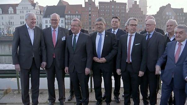 Die Innenminister von Bund und Ländern in Lübeck