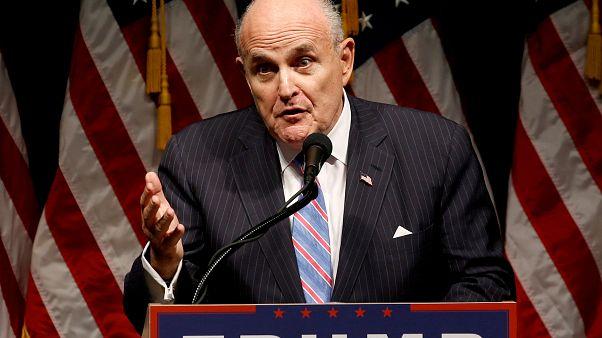 Auf geheimer Mission? Trump-Anwalt Giuliani (75) in der Ukraine
