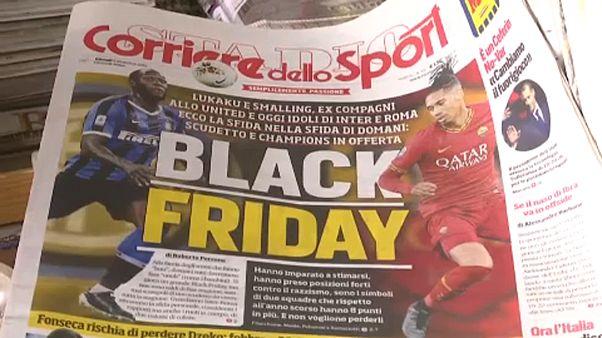 Rasszista színezetű meccsbeharangozó Olaszországban