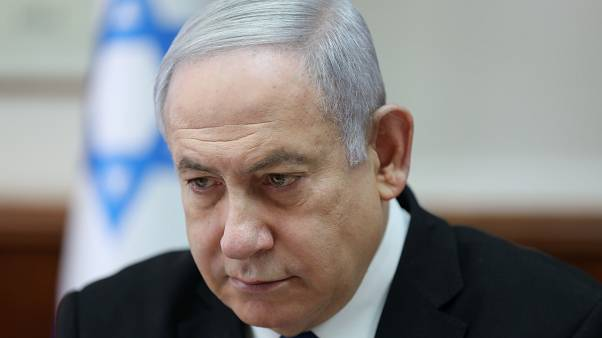 رئيس الوزراء الإسرائيلي بنيامين نتنياهو خلال الاجتماع الأسبوعي مع أعضاء الحكومة - 2019/12/01 -