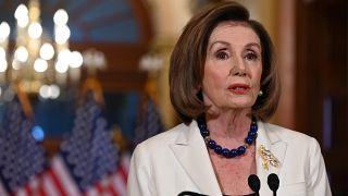 Demokratin Pelosi am heutigen Donnerstag in Washington