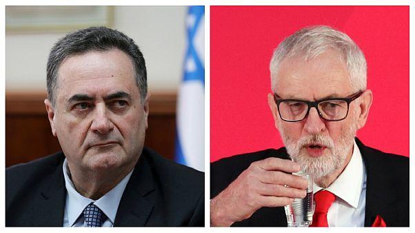 وزیر خارجه اسرائیل: امیدوارم کوربین در انتخابات بریتانیا شکست بخورد