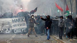 شاهد: إضرابات واحتجاجات في فرنسا ضد إصلاح نظام التقاعد