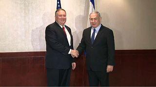 Netanyahu e Pompeo em Lisboa com tensão como pano de fundo