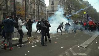 France brought to a near-standstill as enormous strike gets underway