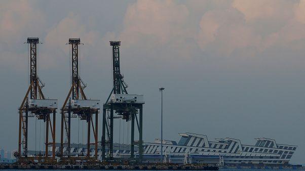 """В Сингапуре арестовано российское судно """"Севастополь"""""""