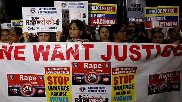 پلیس هند ۴ مرد متهم به تجاوز به یک زن دامپزشک را کشت