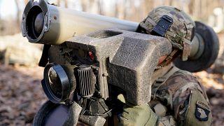 جندي أميركي خلال تدريبات عسكرية في الولايات المتحدة
