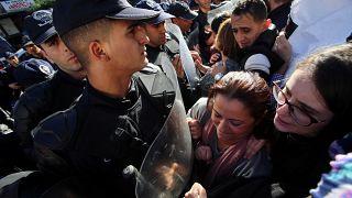 مظاهرات رفض الانتخابات الرئاسية في الجزائر