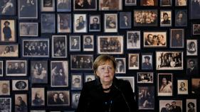 Live: Merkel visits Auschwitz memorial for the first time after 14 years as Germany's Chancellor