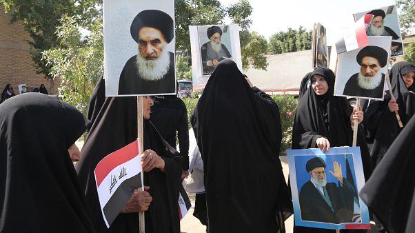 """العراق: السيستاني يدعو إلى اختيار رئيس وزراء جديد من دون """"تدخل خارجي"""""""