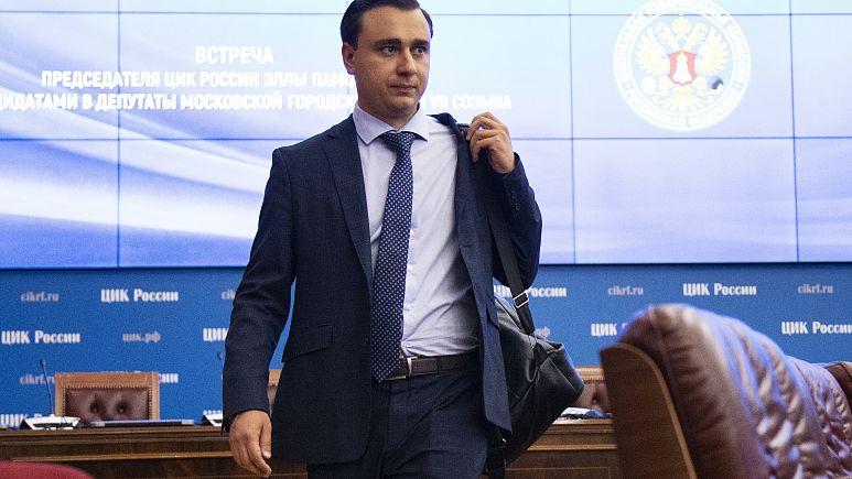 В Москве задержан директор ФБК Иван Жданов