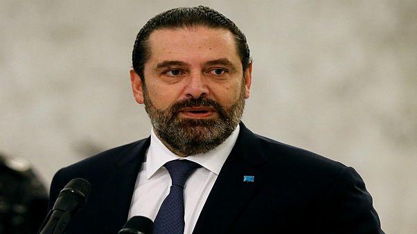رئيس الوزراء اللبناني المؤقت، سعد الحريري